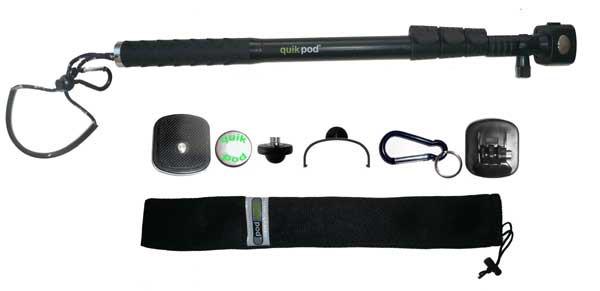 QuikPod Photostange DSLR/POV ultra Monopod