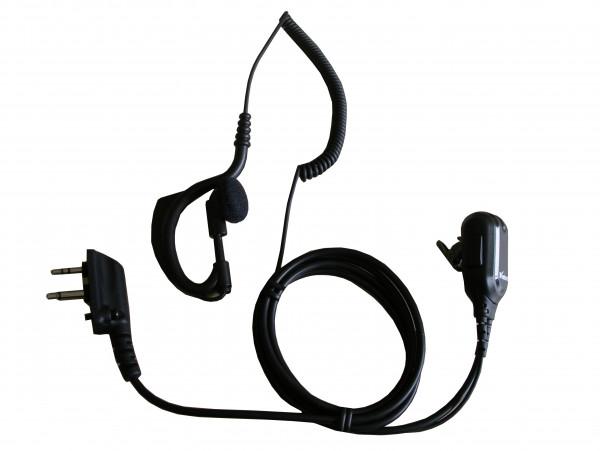 Wintec LP-83B1 Earhook Clip Microphone
