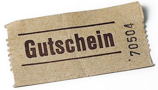 Geschenk - Gutschein 100CHF