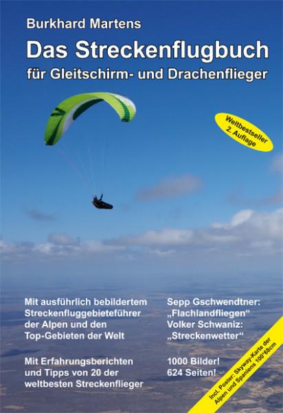 Das Streckenflugbuch von Burkhard Martens