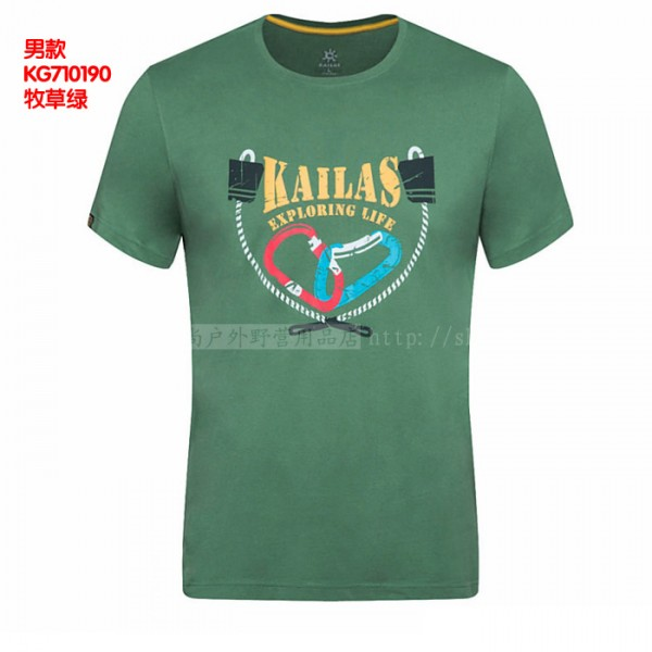 Kailas T-Shirt Round Neck Cotton men