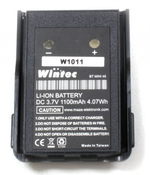 Wintec Akku BT MINI46 Li-ion 7.4V/1100mAh